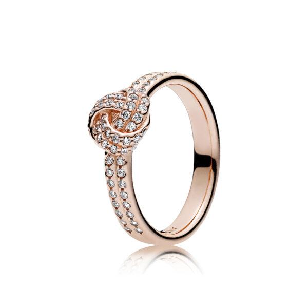 Δαχτυλίδι Pandora Rose Με Κυβική Ζιρκόνια, Δεσμός Αγάπης 180997Cz