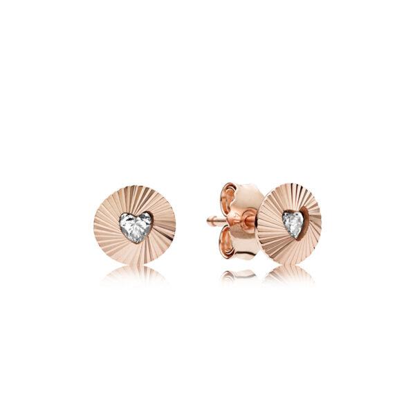 Σκουλαρίκια Με Κυβ. Ζιρκόνια, Pandora Rose 287297Cz