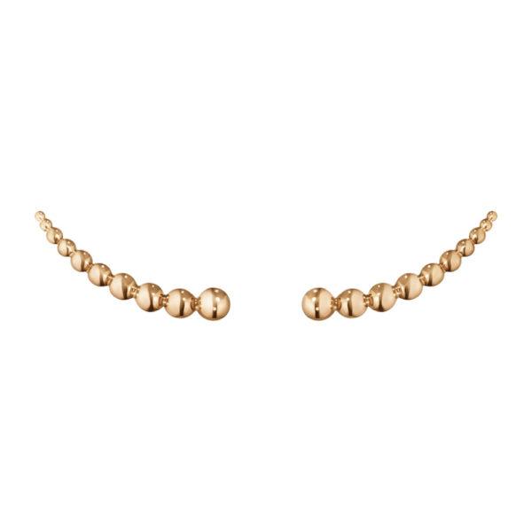 Σκουλαρίκια Ροζ Χρυσό Κ18, Moonlight Grapes 3518468