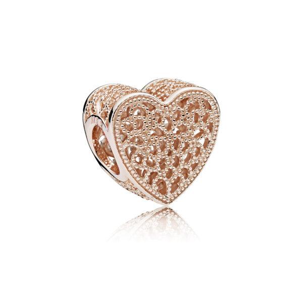 Σύμβολο Pandora Rose , Openwork Καρδιά 781811