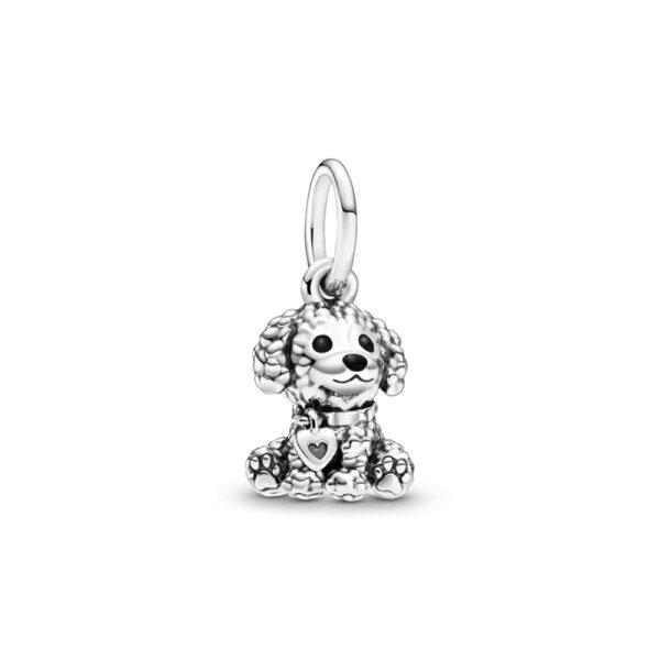 Κρεμαστό Σύμβολο Ασ. 925 Με Σμάλτο, Poodle Κουταβάκι 798871C01.Jpg