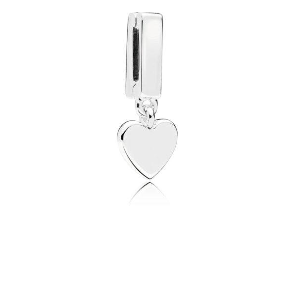 Σύμβολο Κλιπ Ασημ. 925, Pandora Reflexions, Κρεμαστή Καρδιά 797643.Jpg