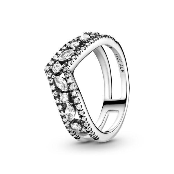 Δαχτυλίδι Ασ. 925 Με Κυβική Ζιρκόνια, Wishbone199095C01