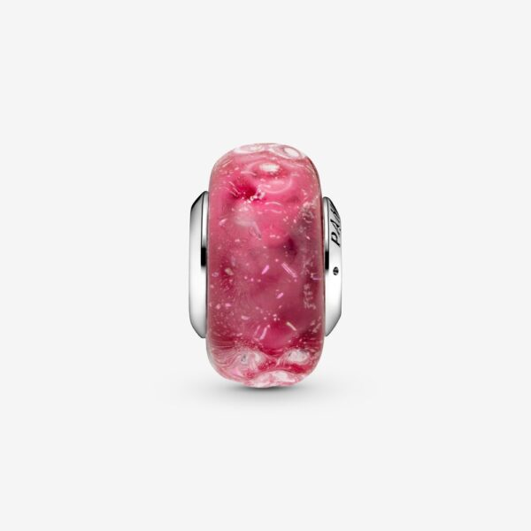 Σύμβολο Ασ. 925 Γυαλί Murano Wavy Fancy Pink 798872C00_V2_Rgb