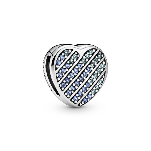 Σύμβολο Κλιπ Pandora Reflexions Ασ. 925 Με Κυβική Ζιρκόνια, Καρδιά 799346C01