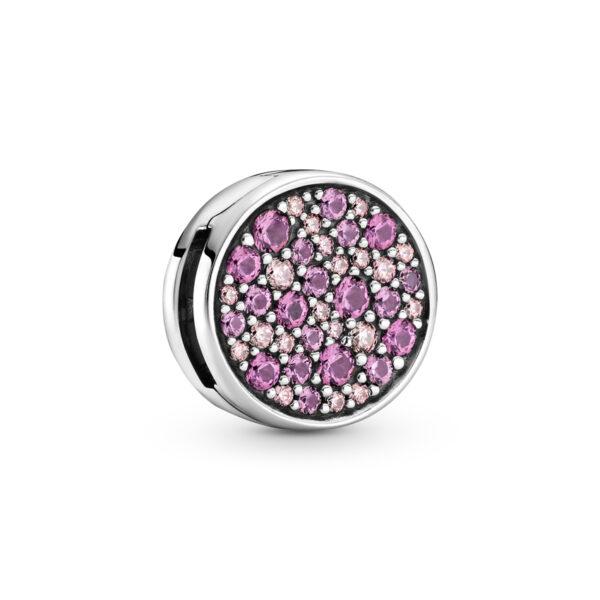 Κλιπ Σύμβολο Pandora Reflexions Ασ. 925 Με Κυβική Ζιρκόνια Και Κρύσταλλο 799362C01