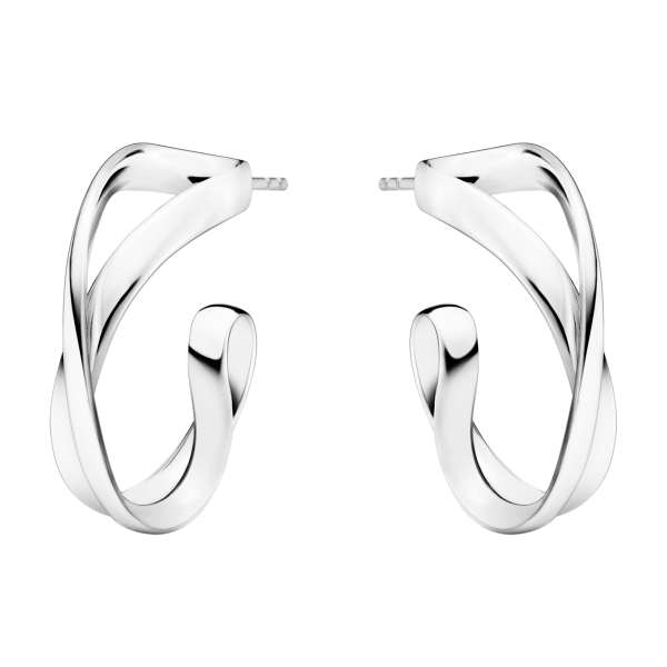 3539283 Σκουλαρίκια Infinity Από Μασίφ Ασήμι 925